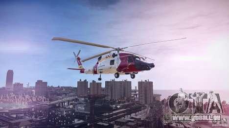 HH-60J Jayhawk pour GTA 4 est une gauche