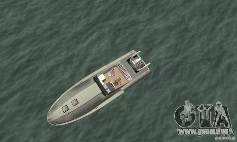 Tschilpjes Jetmax pour GTA San Andreas vue de droite