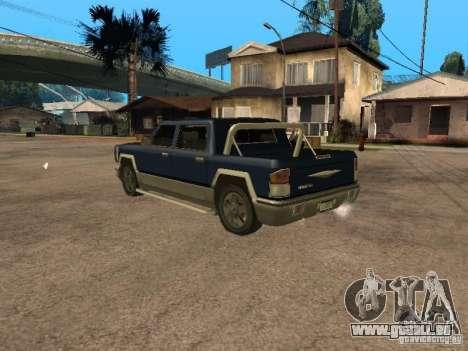 HD Columb pour GTA San Andreas laissé vue