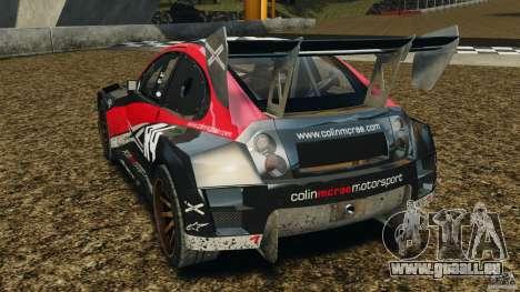 Colin McRae R4 Rallycross pour GTA 4 Vue arrière de la gauche