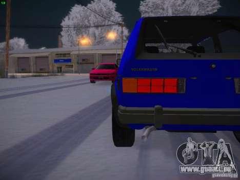 Volkswagen Rabbit GTI für GTA San Andreas Seitenansicht