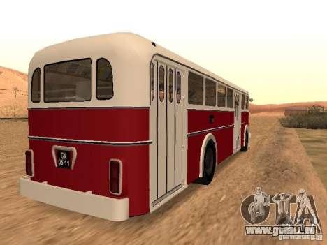Ikarus 60 für GTA San Andreas zurück linke Ansicht