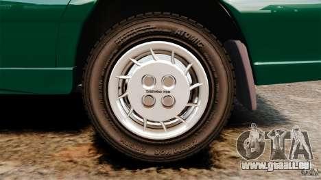 Daewoo-FSO Polonez Caro Plus 1.6 GSI 1998 Final pour GTA 4 Vue arrière