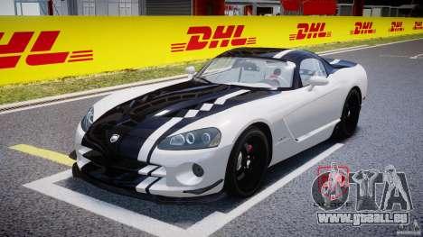 Dodge Viper SRT-10 ACR 2009 v2.0 [EPM] pour GTA 4