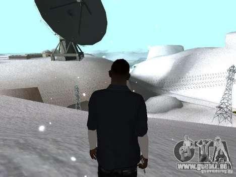 Snow MOD 2012-2013 pour GTA San Andreas quatrième écran