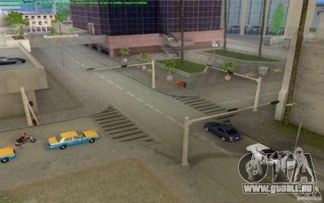 Konkrete Straßen von Los Santos Beta für GTA San Andreas achten Screenshot