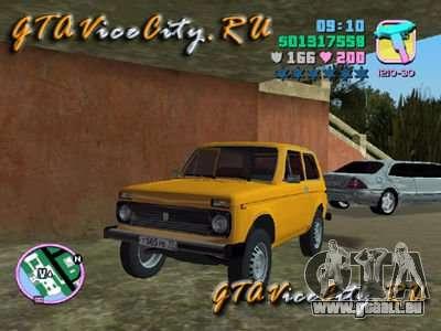 Le Niva VAZ 21213 pour GTA Vice City