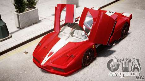 Ferrari FXX pour GTA 4 roues