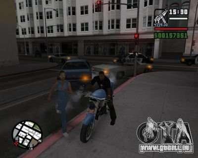 Clignotants 2.1 pour GTA San Andreas troisième écran
