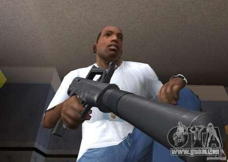 QCW-05 für GTA San Andreas zweiten Screenshot