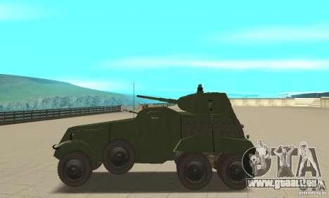 BTR BA-11 pour GTA San Andreas laissé vue