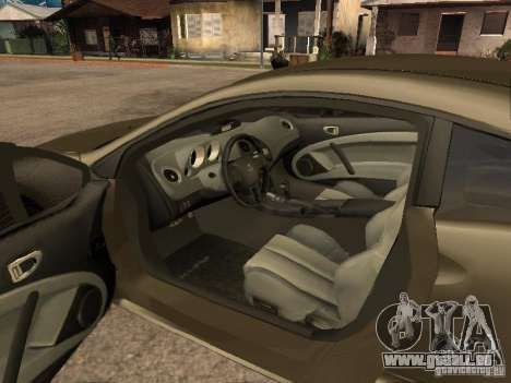 Mitsubishi Eclipse pour GTA San Andreas vue arrière