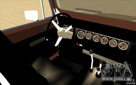 Jeep Wrangler 1986(2) pour GTA San Andreas vue arrière