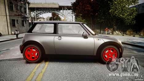 Mini Cooper S für GTA 4 linke Ansicht