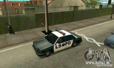 Les crampons sur la route pour GTA San Andreas