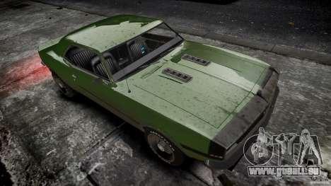 Chevrolet Camaro RS/SS 396 1968 pour GTA 4 est une vue de l'intérieur