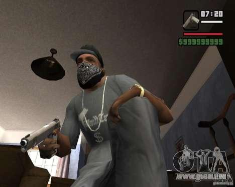 Kimber Desert Warrior für GTA San Andreas zweiten Screenshot