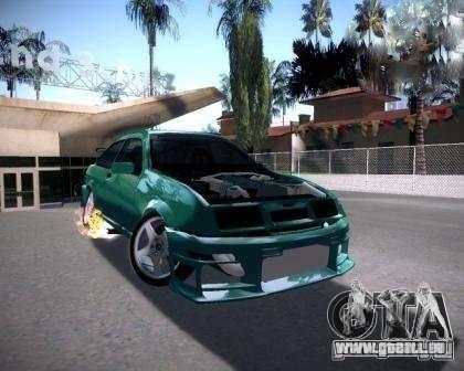 Ford Sierra Drift für GTA San Andreas zurück linke Ansicht