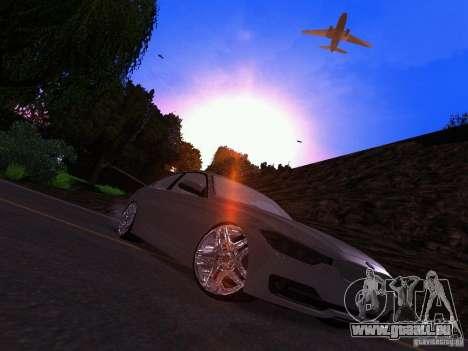 BMW 335i F30 Coupe pour GTA San Andreas vue de droite