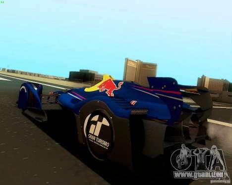 X2010 Red Bull für GTA San Andreas linke Ansicht