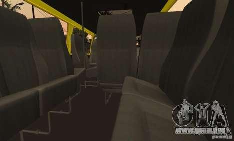 Minibus de Novossibirsk Gazelle 32213 pour GTA San Andreas vue de côté