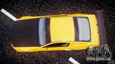 Ford Mustang GT-R für GTA 4 Rückansicht