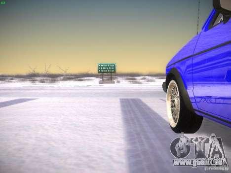 Volkswagen Rabbit GTI für GTA San Andreas Rückansicht
