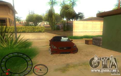 Infiniti G37 Vossen pour GTA San Andreas