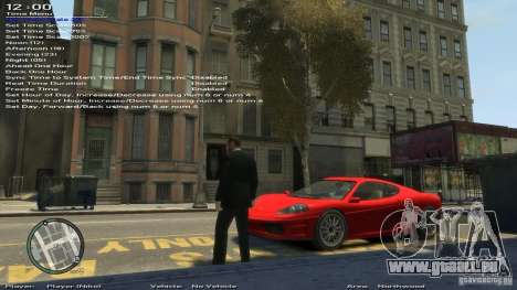 Einfache Trainer Version 6.2 für 1.0.6.0-1.0.7.0 für GTA 4 neunten Screenshot