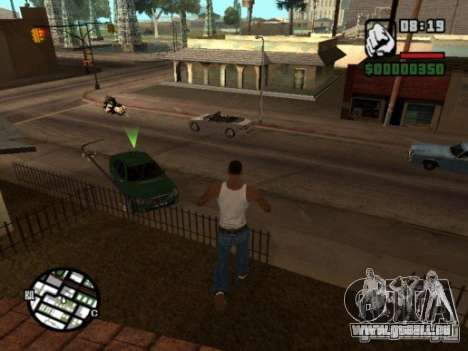 Call of Homies pour GTA San Andreas deuxième écran