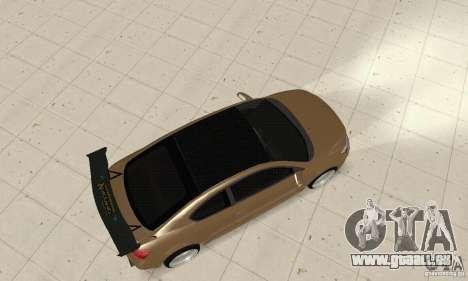Toyota Scion tC Edited pour GTA San Andreas sur la vue arrière gauche