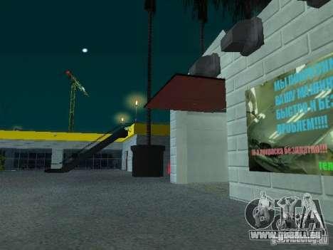 Neuer Showroom in San Fierro für GTA San Andreas siebten Screenshot