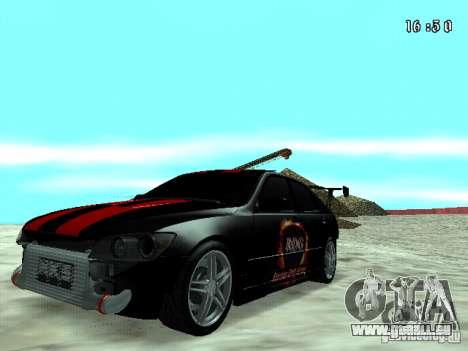 Toyota Altezza NKS Drift pour GTA San Andreas