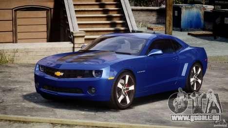 Chevrolet Camaro v1.0 pour GTA 4