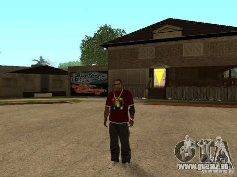 Mike Windows pour GTA San Andreas deuxième écran