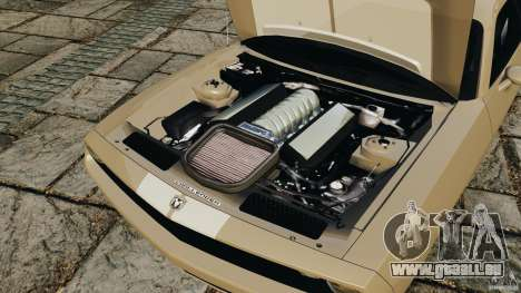 Dodge Challenger Concept 2006 pour GTA 4 est une vue de l'intérieur