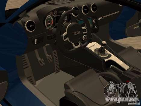 Audi TT RS für GTA San Andreas Rückansicht