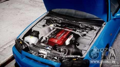 Nissan Skyline R-34 V-spec pour GTA 4 est un côté