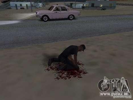 Durch einen Schuss verletzt für GTA San Andreas zweiten Screenshot