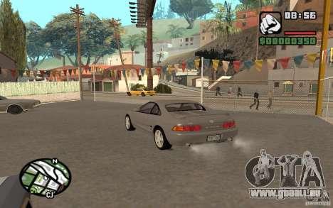 Toyota MR2 GT pour GTA San Andreas sur la vue arrière gauche