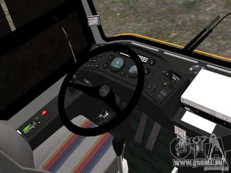 MAZ 152A für GTA 4 Rückansicht