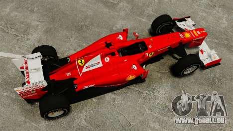Ferrari F2012 für GTA 4 rechte Ansicht