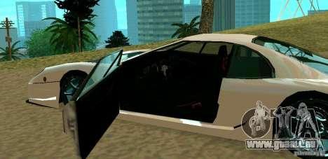 New Turismo pour GTA San Andreas vue de droite
