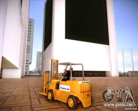 Caterpillar Torocat pour GTA San Andreas vue de droite