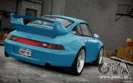 Porsche 911(993) GT2 1995 pour GTA 4 vue de dessus