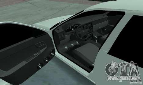 Lada Priora Low pour GTA San Andreas vue arrière
