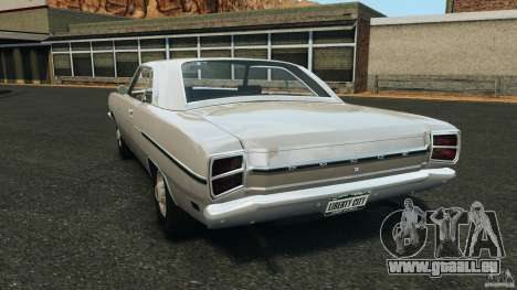 Dodge Dart 1969 [Final] für GTA 4 hinten links Ansicht