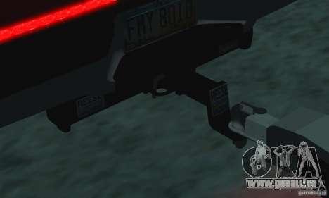 Trailer für den Chevrolet Silverado 2012 für GTA San Andreas rechten Ansicht
