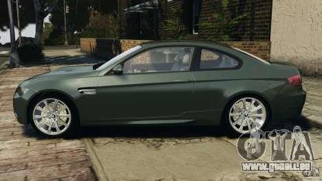 BMW M3 E92 2007 v1.0 [Beta] pour GTA 4 est une gauche