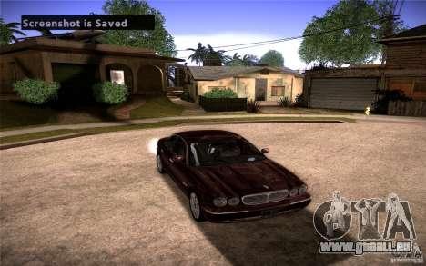 Jaguar Xj8 für GTA San Andreas Rückansicht